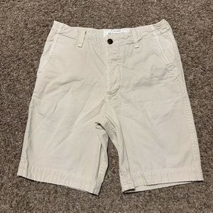 Abercrombie & Fitch Button Fly Shorts Sz. 30 Beige